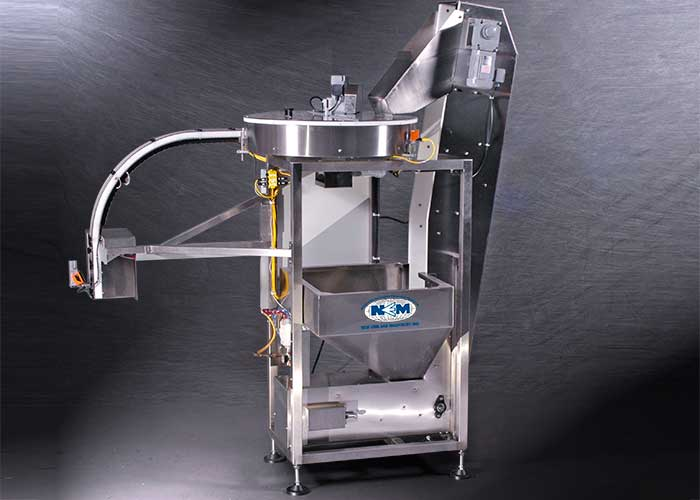 Vertical Feed Bottle Unscrambler NEVF