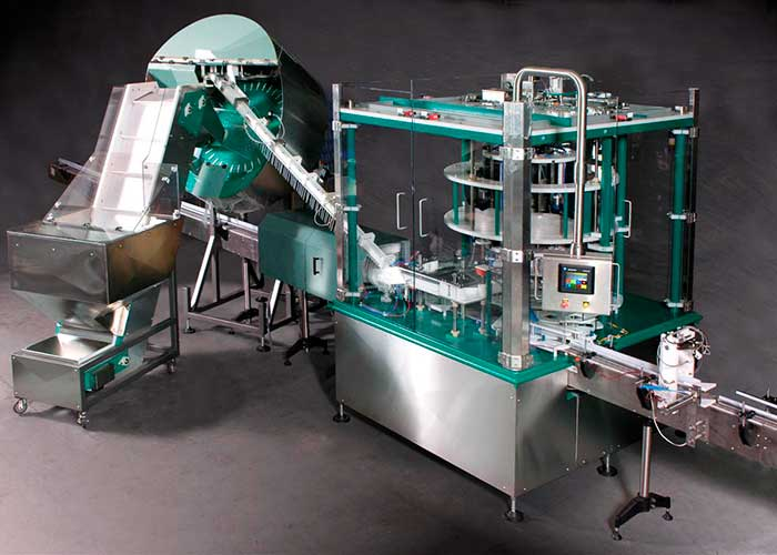 Pump head Sorter Placer Capper System